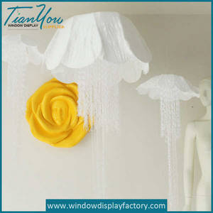 Wholesale transport freight solutions: Decoration Large Colorful Foam Flower