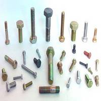 Bolt with Various Kinds of Head Shapes