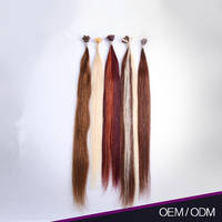 Superior Quality Clean and No Smell 100% Natural Human Hair 26 Inch Keratin Human Hair Extensions