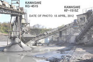 Wholesale japan tube: Used KAWASAKI Model KG-4515 Super Coarse Gyratory Crusher