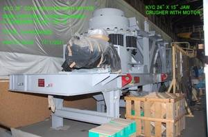 Wholesale electric motor pump: Unused KYC Stone Crushing & Screening Plant
