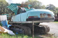 Used KOBELCO Model KMC200 Mobile Crusher with Jaw Crusher 3