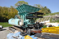 Used KOBELCO Model KMC200 Mobile Crusher with Jaw Crusher 5