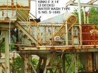 Used Kinki Horizontal Type 5' X 14' Vibrating Screen