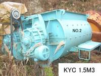 Code No. KYC-5-1.5m3 of KYC Concrete Mixer Capacity 1.5m3