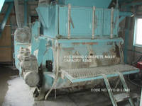 Code No. KYC-8-1.0m3 of KYC Concrete Mixer Capacity 1.0m3