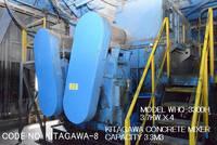 KITAGAWA-8-3.3M3 of CONCRETE MIXER Model WHQ-3300H