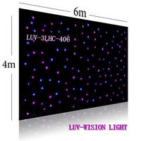 LED Star Curtain/LED Horizon DMX Curtain(LUV-LHC308)