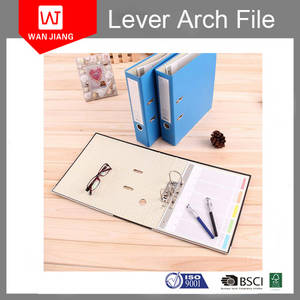 Wholesale a4 file: Colorful 3 Inch A4 Lever Arch File Folder with Best Price