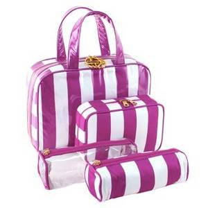 Wholesale pvc travel bag: Professional PVC Makeup Bag with Various Styles