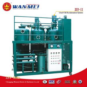 Wholesale waste engine oil: ZSY-II Waste Engine Oil Recycling Plant
