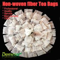Empty Tea Bags Making Non-woven Fabric with String and Private Label