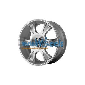 Wholesale Wheels, Rims & Tires: American Racing Dagger AR889 Silver W/Machine