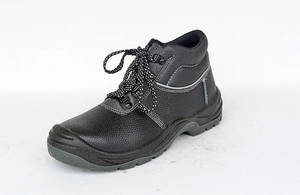 Wholesale footwear: High Cut PU Injection Industrial Safety Footwear S1P S3 Safety Boots Safety Toe Shoes
