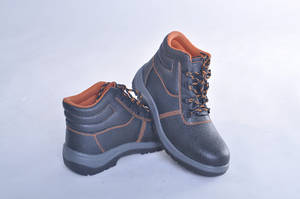 Wholesale boots: PU Injection Cheap Steel Toe Safety Boot,Fire Resistant Safety Boots