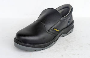 Wholesale microfiber: Cheap BLACK Microfiber Safety Shoes,ON SALE Slip Resistant Kitchen Shoes WXLC-P007