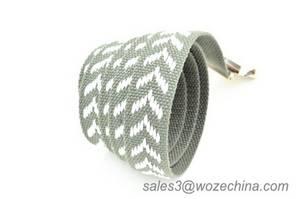 Wholesale Fabric Belts: Custom Web Jeans Pant Accessories Boot Belt