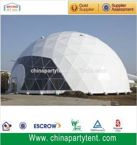 Wholesale outdoor tents for parties: Commercial Hot Sale Big Outdoor Large Half Sphere Tent for Party with Locked Door