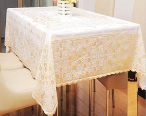 Wholesale table cover: 137cm*180cm PVC Tablecloth Plastic Table Cover for Restaurant Dinning Tablecloth