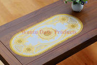China Factory Custom PVC Art Design Placemats Oval