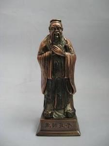 Wholesale Other Project Cooperation: Bronze Confucius Sculpture