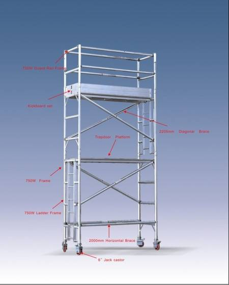 Aluminum Scaffolding Suppliers : Aluminum scaffold id product details view