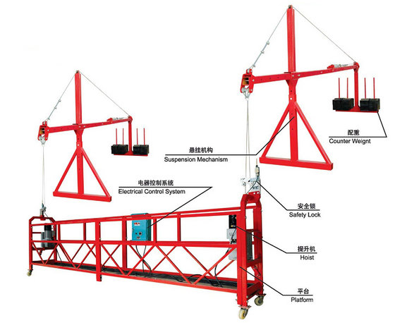 Suspended Platform Power Cradle Swing Stage Power Climber