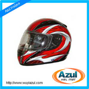 Wholesale full face helmet: Motorcycle Full Face ABS Helmet