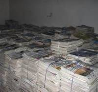 Sell Over Issued News Paper Scrap