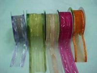 Sell Organza Ribbons with Satin Strip
