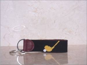 Wholesale Key Chains: Promotional Needlepoint KeyChains,Customized Key Chains