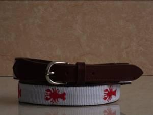 Wholesale fashion belt: Men's Fashionable Cotton Belts,Embroidery Belts