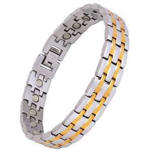 Wholesale bracelets: Magnetic Stainless Steel Bracelet