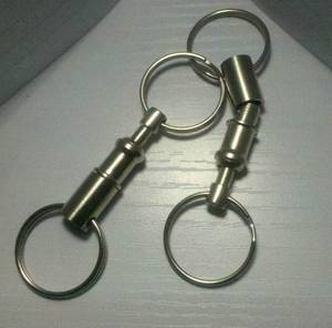 Wholesale Key Chains: Pull Apart Key Ring/ Quick Release Key Ring
