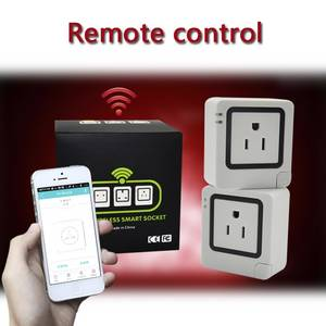 Wholesale internet phone: Smart WiFi Energy Saving Outlet Electric Plug with Timer