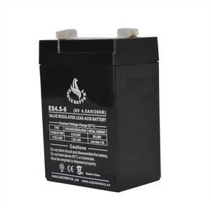 Wholesale 24hr car service: 6V 4.5ah Rechargeable Sealed Lead Acid Battery