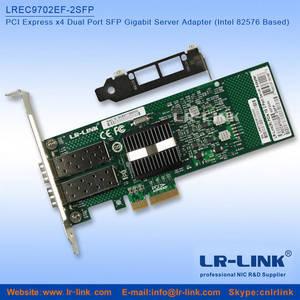 Wholesale optim rx: Compatible with E1G42EF 1000Mbps Dual Port SFP Gigabit Server Adapter