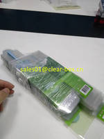 Stretch Film Wrapped Packing Presentation for Plastic Clear Box
