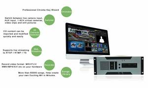 Wholesale usb conference phone: Broadcasting Equipment 12-CH Video Switcher Software System Virtual Studio System