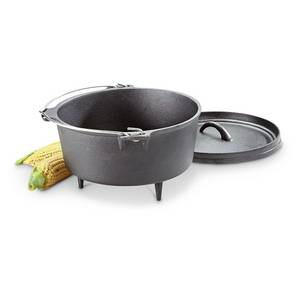 Wholesale Dutch Ovens & Casserole Dishes: Cast Iron Dutch Oven, 4 Quart