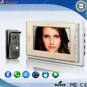 Wholesale intercom system: Fashion Villa Video Intercom System, Villa Access Control with HD Camera