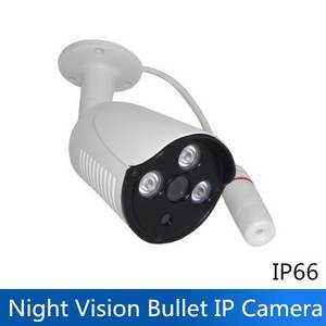 Wholesale surveillance camera cable: Outdoor H.265 Full HD 1080P 2MP P2P POE Power IR Night Vision IP Bullet Camera