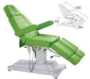 Wholesale electric bed: Salon Spa Electrically Controlled Beauty Bed Massage Table  XY-8502