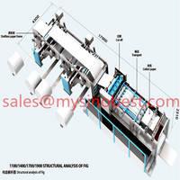 Sell AC Servo high speed roll to sheet cutting paper machine