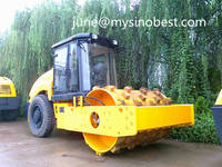 Mechanical Drive&Articulated 18 Ton Single Drum Vibrating Road Roller