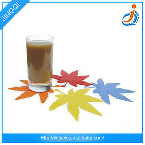 Wholesale cup pad: New Design Useful Custom Silicone Cup Mat Pad Table Heat Protector