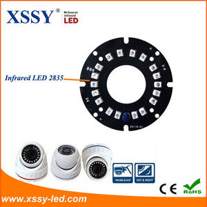 Wholesale cctv system: XSSY Infrared LED 2835 Epistar 14mil Chip PCB Board for Security CCTV System with High Quality