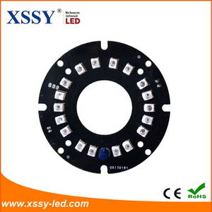 Wholesale CCTV Products: XSSY Professional Produce High Luminous Intensity 850nm 14mil Infrared LED PCB Board with 14 Years