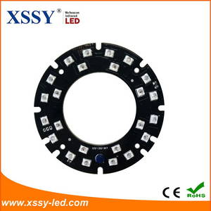 Wholesale camera: High Efficiency Brightness Infrared SMD 2835 LED 14mil PCB Board for Safety Camera Systems