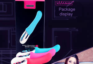 Wholesale silicone products: Sex Toy Product 30 Modes of Vibration Double Motor Inside 100% Silicone Waterproof Rechargeable